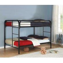 Morgan Silver Full Bunk Bed