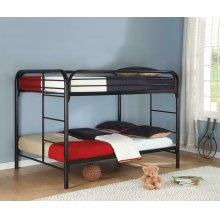 Morgan Silver Full Bunk Bed