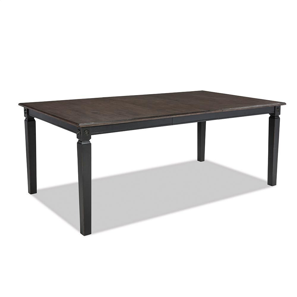 Glennwood Dining Table  Black & Charcoal