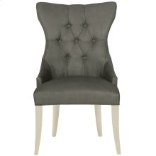 Deco Tufted Back Chair in Chalk