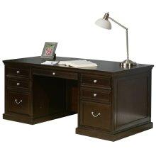 """72"""" Double Pedestal Executive Desk"""
