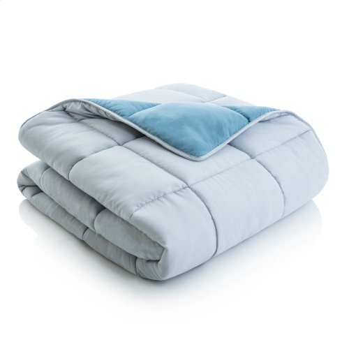 Reversible Bed in a Bag Split Cal King Lilac