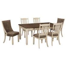 Bolanburg - Antique White 7 Piece Dining Room Set