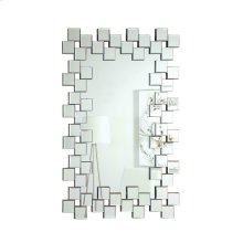 Contemporary Frameless Clear Mirror