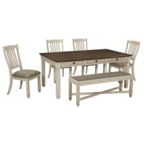 Bolanburg - Antique White 6 Piece Dining Room Set Product Image