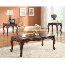 3PC PK COFFEE/END TABLE SET