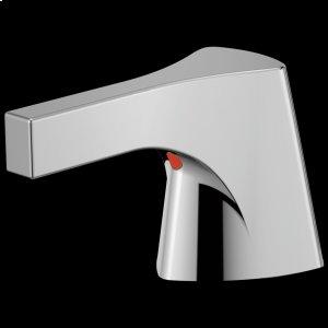 Chrome Metal Lever Handle Set - Bathroom or Bidet Product Image