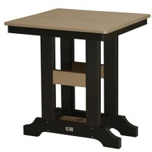 "28"" Square Bar Table"
