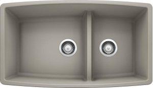 Blanco Performa 1-3/4 Medium Bowl - Concrete Gray Product Image