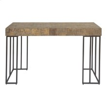 Crosscut Console Table