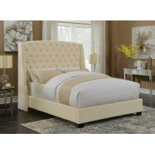Pissarro Champagne Upholstered King Bed