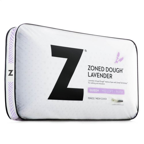 Zoned Dough® Lavender with Spritzer Queen