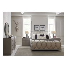 Cinema by Rachael Ray Metal Canopy Bed, Queen 5/0