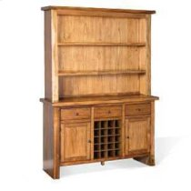 Carey Live Edge Buffet & Hutch Product Image