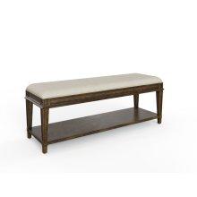 Hillside Bed End Bench - Chestnut