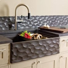 Workstation Wave Front Farmhouse Sink
