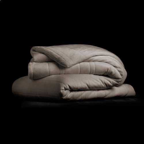 """Malouf Weighted Blanket, 60"""" x 80"""", 12 lbs, Driftwood"""