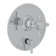 Polished Chrome Italian Bath Pressure Balance Trim With Diverter