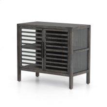 Genoa Small Cabinet-black Burnt Oak