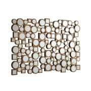 Transitional Brown Mirror Product Image