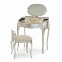 Pierre Vanity With Mirror & Vanity Chair