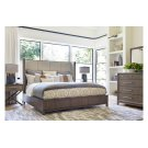 High Line by Rachael Ray Upholstered Shelter Bed, CA King 6/0 Product Image