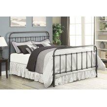 Livingston Transitional Dark Bronze Twin Bed