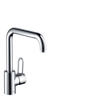 Chrome Single lever kitchen mixer 230 with swivel spout Product Image
