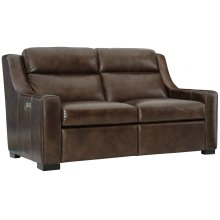Germain Power Motion Loveseat in Mocha (751)