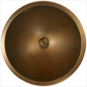 Bronze Large Round Smooth Product Image