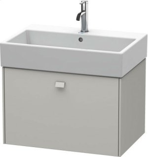 Vanity Unit Wall-mounted, For Vero Air # 235070concrete Gray Matte (decor) Product Image