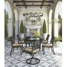Rose View - Brown 4 Piece Patio Set Product Image