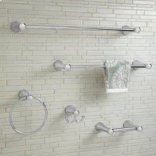 C Series 24 Inch Towel Bar - Polished Chrome