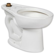 Madera 1.1-1.6 gpf Top Spud ADA Elongated Bowl with EverClean  American Standard - White