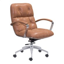 Avenue Office Chair Vintage Coffee