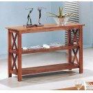 Casual Medium Brown Sofa Table Product Image