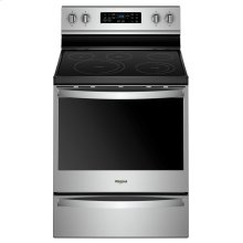 6.4 cu. ft. Freestanding Electric Range with Frozen Bake Technology