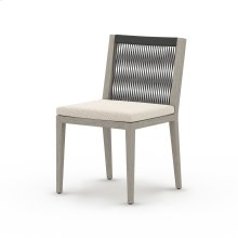 Faye Sand Cover Sherwood Outdoor Dining Chair, Weathered Grey