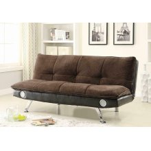 Casual Dark Brown Sofa Bed