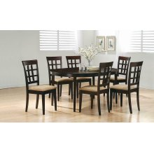 Gabriel Casual Cappuccino Dining Table