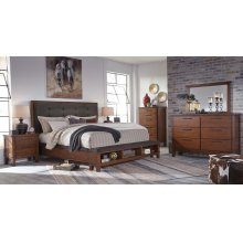 ASHLEY B594-31-36-58-56-97 Ralene 3-Piece Bedroom Group - King Bed, Dresser & Mirror