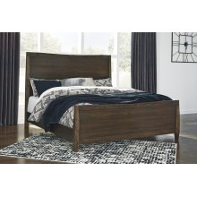Kisper - Brown 3 Piece Bed Set (King)