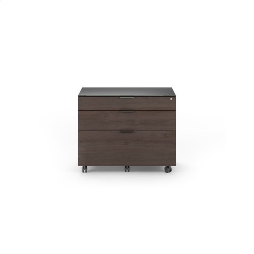 6916 Lateral File Cabinet in Sepia