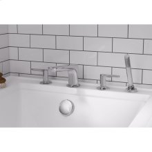 Studio S Deck Mount Tub Filler with Hand Shower  American Standard - Polished Chrome