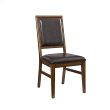 Santa Clara Upholstered Back Side Chair