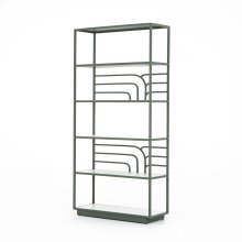 Sage Green Finish Marcel Bookshelf
