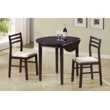 Casual Cappuccino Three-piece Dining Set