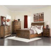 Elk Grove Rustic Rich Bourbon Eastern King Five-piece Set Product Image