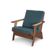 Teak & Blend Lagoon Riviera Modern Lounge Chair