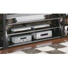 Contemporary Matte Black TV Console Product Image